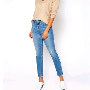 NWT ~ NOEND Slim Straight Ankle Jeans